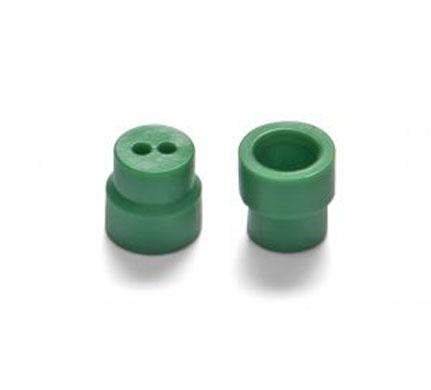 Otodynamics® Almohadilla 6mm (verde) OT206, 100 uds.