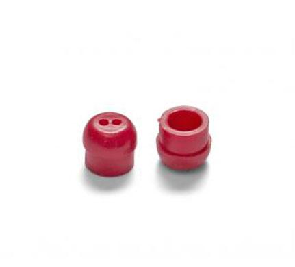 Otodynamics® Almohadilla 8mm (roja) OT208, 100 pcs